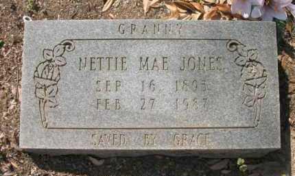 JONES, NETTIE MAE - Chicot County, Arkansas | NETTIE MAE JONES - Arkansas Gravestone Photos