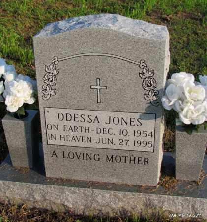 JONES, ODESSA - Chicot County, Arkansas | ODESSA JONES - Arkansas Gravestone Photos