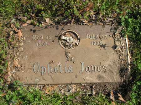 JONES, OPHELIA - Chicot County, Arkansas   OPHELIA JONES - Arkansas Gravestone Photos
