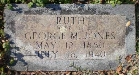 JONES, RUTH - Chicot County, Arkansas   RUTH JONES - Arkansas Gravestone Photos