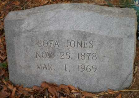 JONES, SOFA - Chicot County, Arkansas | SOFA JONES - Arkansas Gravestone Photos
