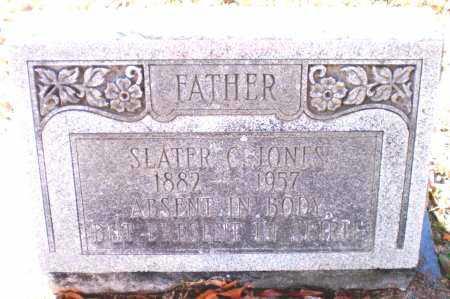 JONES, SLATER C - Chicot County, Arkansas   SLATER C JONES - Arkansas Gravestone Photos