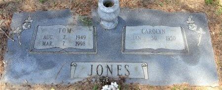 JONES, TOM - Chicot County, Arkansas   TOM JONES - Arkansas Gravestone Photos