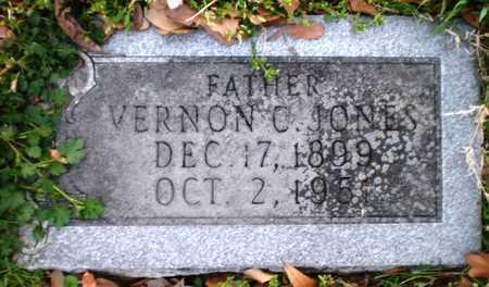 JONES, VERNON C - Chicot County, Arkansas   VERNON C JONES - Arkansas Gravestone Photos