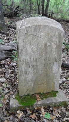 JONES, WILLIAM - Chicot County, Arkansas | WILLIAM JONES - Arkansas Gravestone Photos