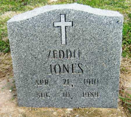 JONES, ZEDDIE - Chicot County, Arkansas | ZEDDIE JONES - Arkansas Gravestone Photos