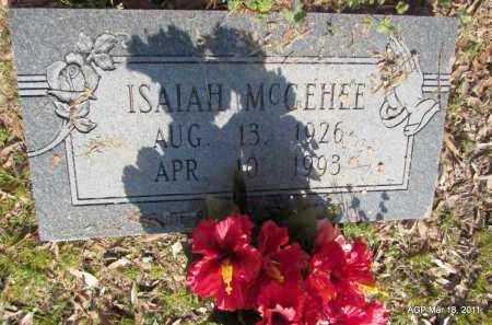 MCGEHEE, ISAIAH - Chicot County, Arkansas   ISAIAH MCGEHEE - Arkansas Gravestone Photos
