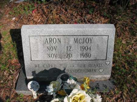 MCJOY, ARON - Chicot County, Arkansas | ARON MCJOY - Arkansas Gravestone Photos