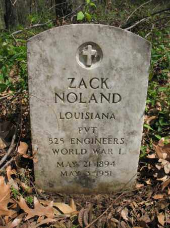 NOLAND (VETERAN WWI), ZACK - Chicot County, Arkansas | ZACK NOLAND (VETERAN WWI) - Arkansas Gravestone Photos