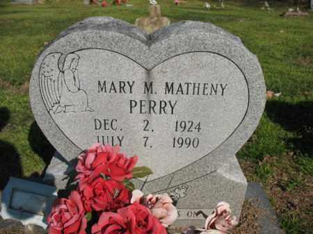 PERRY, MARY M. - Chicot County, Arkansas   MARY M. PERRY - Arkansas Gravestone Photos