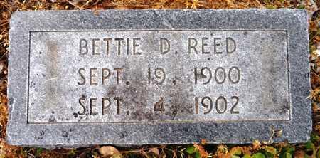 REED, BETTIE D - Chicot County, Arkansas   BETTIE D REED - Arkansas Gravestone Photos