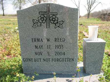 REED, ERMA W - Chicot County, Arkansas | ERMA W REED - Arkansas Gravestone Photos