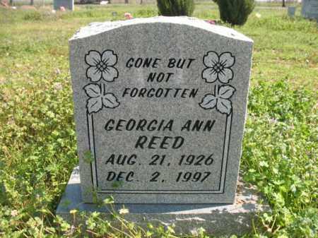 REED, GEORGIA ANN - Chicot County, Arkansas | GEORGIA ANN REED - Arkansas Gravestone Photos