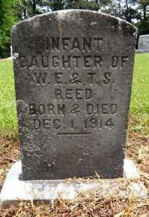 REED, INFANT DAUGHTER - Chicot County, Arkansas | INFANT DAUGHTER REED - Arkansas Gravestone Photos
