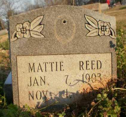REED, MATTIE - Chicot County, Arkansas   MATTIE REED - Arkansas Gravestone Photos