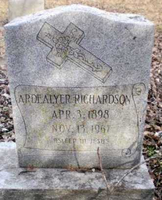 RICHARDSON, ARDEALYER - Chicot County, Arkansas | ARDEALYER RICHARDSON - Arkansas Gravestone Photos