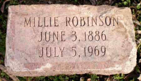 ROBINSON, MILLIE - Chicot County, Arkansas | MILLIE ROBINSON - Arkansas Gravestone Photos
