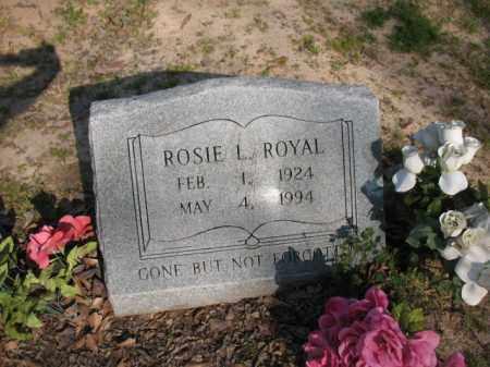 ROYAL, ROSIE L - Chicot County, Arkansas   ROSIE L ROYAL - Arkansas Gravestone Photos