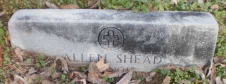 SHEAD, ALLEN - Chicot County, Arkansas | ALLEN SHEAD - Arkansas Gravestone Photos