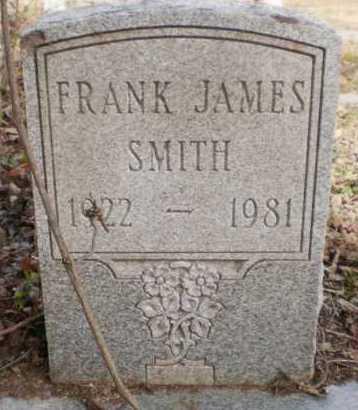 SMITH, FRANK JAMES - Chicot County, Arkansas | FRANK JAMES SMITH - Arkansas Gravestone Photos