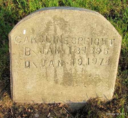 SPEIGHT, CAROLINE - Chicot County, Arkansas | CAROLINE SPEIGHT - Arkansas Gravestone Photos
