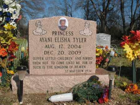 TYLER, PRINCESS AYANI ELISHA - Chicot County, Arkansas   PRINCESS AYANI ELISHA TYLER - Arkansas Gravestone Photos