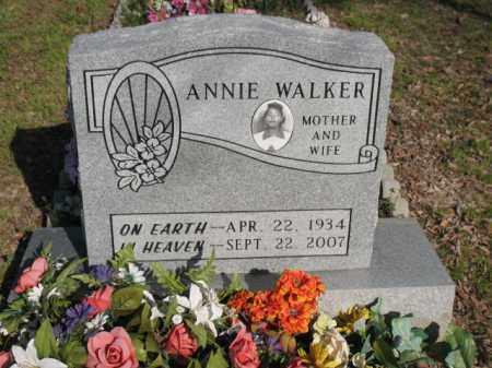 WALKER, ANNIE - Chicot County, Arkansas   ANNIE WALKER - Arkansas Gravestone Photos