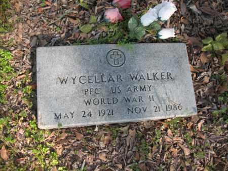 WALKER (VETERAN WWII), WYCELLAR - Chicot County, Arkansas | WYCELLAR WALKER (VETERAN WWII) - Arkansas Gravestone Photos