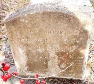 WHITE, JOE - Chicot County, Arkansas | JOE WHITE - Arkansas Gravestone Photos