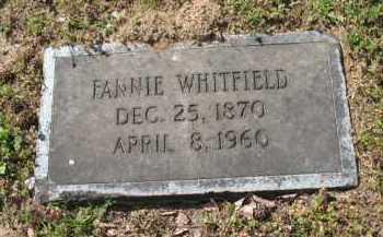 WHITFIELD, FANNIE - Chicot County, Arkansas | FANNIE WHITFIELD - Arkansas Gravestone Photos