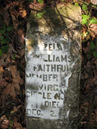 WILLIAMS, ZELA - Chicot County, Arkansas   ZELA WILLIAMS - Arkansas Gravestone Photos