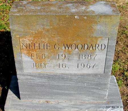 WOODARD, NELLIE G - Chicot County, Arkansas | NELLIE G WOODARD - Arkansas Gravestone Photos