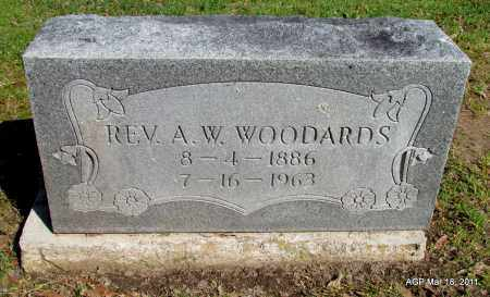 WOODARDS, REV, A W - Chicot County, Arkansas   A W WOODARDS, REV - Arkansas Gravestone Photos