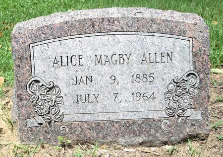 ALLEN, AGNES - Clark County, Arkansas   AGNES ALLEN - Arkansas Gravestone Photos