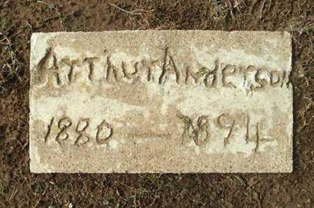 ANDERSON, ARTHUR - Clark County, Arkansas | ARTHUR ANDERSON - Arkansas Gravestone Photos