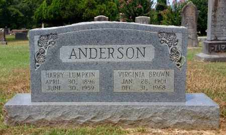 ANDERSON, HARRY LUMPKIN - Clark County, Arkansas | HARRY LUMPKIN ANDERSON - Arkansas Gravestone Photos