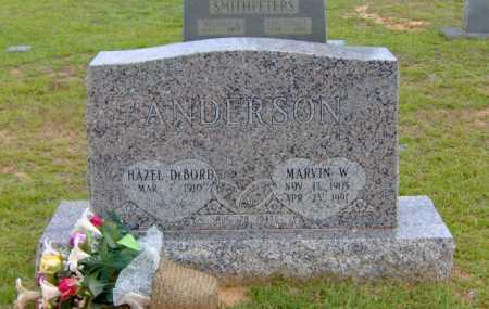 ANDERSON, MARVIN W. - Clark County, Arkansas | MARVIN W. ANDERSON - Arkansas Gravestone Photos