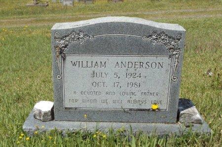 ANDERSON, WILLIAM - Clark County, Arkansas | WILLIAM ANDERSON - Arkansas Gravestone Photos