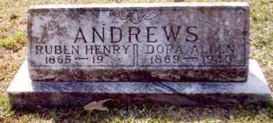 ANDREWS, RUBEN HENRY - Clark County, Arkansas | RUBEN HENRY ANDREWS - Arkansas Gravestone Photos