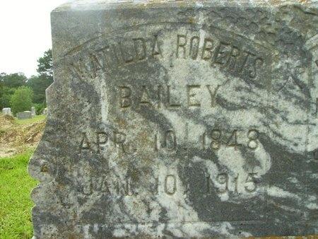 ROBERTS BAILEY, MATILDA - Clark County, Arkansas | MATILDA ROBERTS BAILEY - Arkansas Gravestone Photos