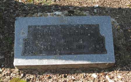 BARFIELD, ANNIE - Clark County, Arkansas   ANNIE BARFIELD - Arkansas Gravestone Photos
