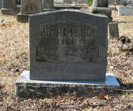 BARFIELD, GEORGE W. - Clark County, Arkansas | GEORGE W. BARFIELD - Arkansas Gravestone Photos