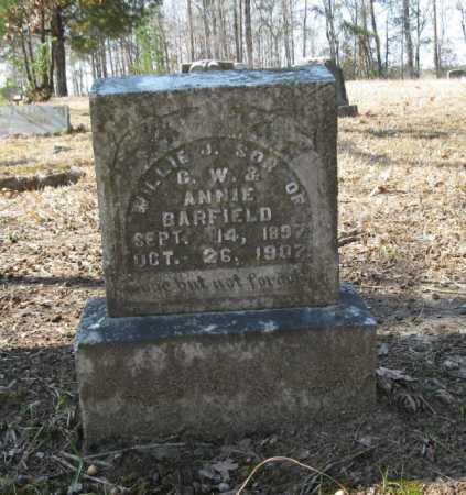 BARFIELD, WILLIE J. - Clark County, Arkansas | WILLIE J. BARFIELD - Arkansas Gravestone Photos