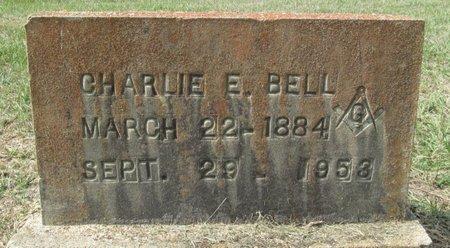 BELL, CHARLIE E. - Clark County, Arkansas   CHARLIE E. BELL - Arkansas Gravestone Photos