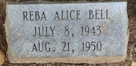 BELL, REBA ALICE - Clark County, Arkansas | REBA ALICE BELL - Arkansas Gravestone Photos
