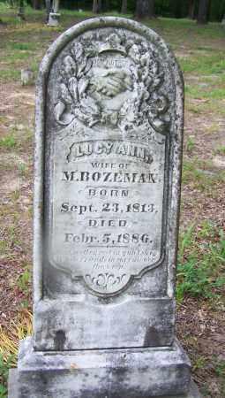 BROWNING BOZEMAN, LUCY ANN - Clark County, Arkansas | LUCY ANN BROWNING BOZEMAN - Arkansas Gravestone Photos