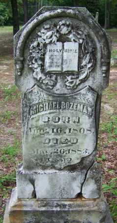 BOZEMAN, MICHAEL - Clark County, Arkansas   MICHAEL BOZEMAN - Arkansas Gravestone Photos