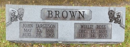 BROWN, WILLIE - Clark County, Arkansas | WILLIE BROWN - Arkansas Gravestone Photos