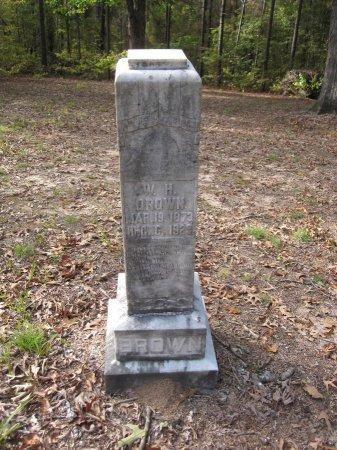 BROWN, WILLIAM H. - Clark County, Arkansas | WILLIAM H. BROWN - Arkansas Gravestone Photos