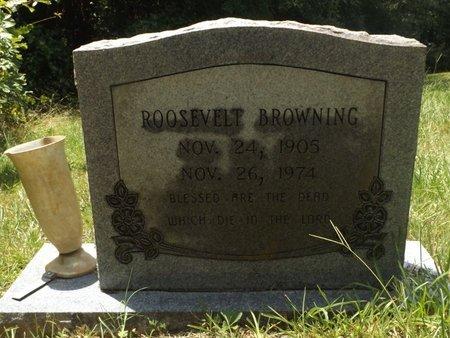 BROWNING, ROOSEVELT - Clark County, Arkansas | ROOSEVELT BROWNING - Arkansas Gravestone Photos